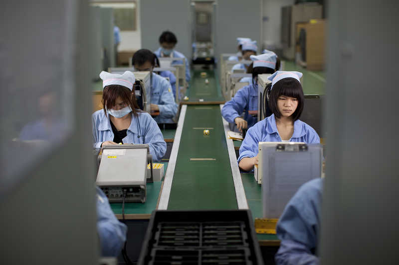ICCNexergy Dongguan power supply assembly line