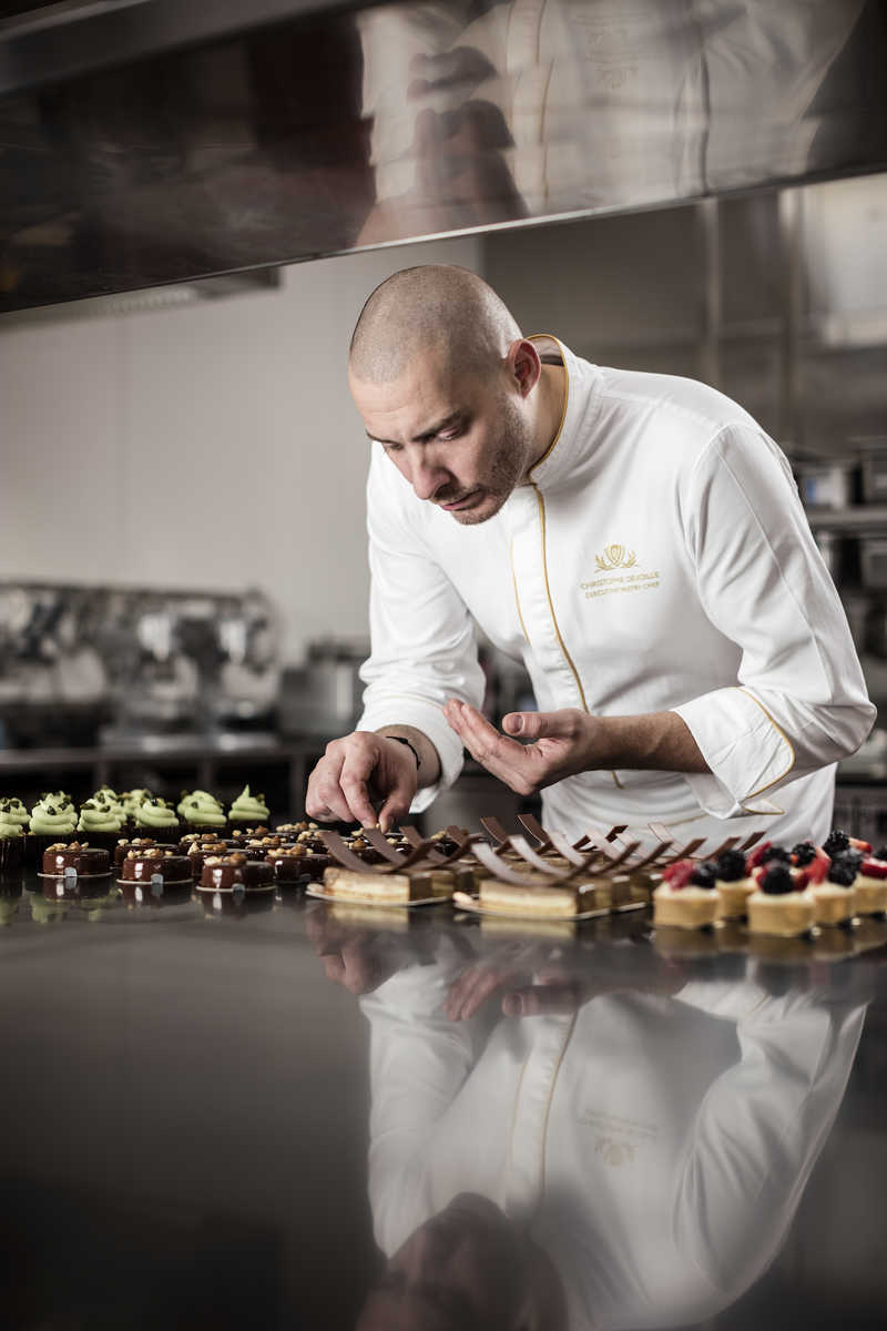 Christophe Devoille, executive pastry chef at Wynn Palace in Macau.