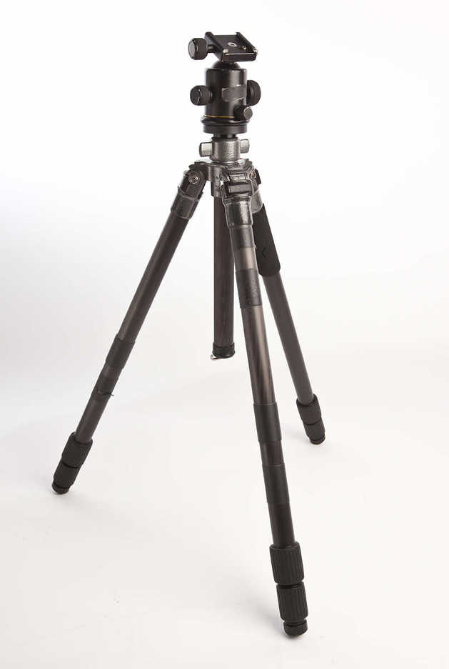 Benro Chinese carbon fiber tripod and kb-1a ball head